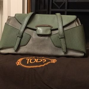 Tod Suede and Leather Bag